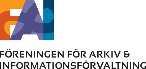 FAI - Föreningen för arkiv och informationsförvaltning